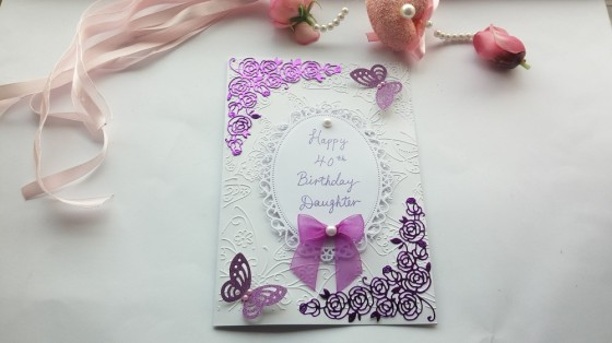 Handmade Birthday Card Mum Wife Girlfriend Love For Her Love For